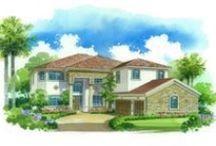 Lennar SWFL Elevation Renderings / Elevation renderings throughout Southwest Florida communities.