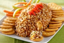 party food/snacks/appetizers / by Vickie Bevens