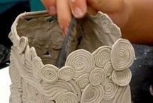 Art Lessons clay / by Jolene Navarro