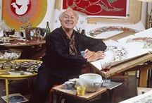 Bjørn Wiinblad - Bjorn Wiinblad / Bjørn Wiinblad (20 September 1918 - 8 June 2006), was a Danish painter, designer and artist in ceramics, silver, bronze, textiles, and graphics.  / by Elizabeth Kirkegaard