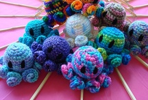 crochet toys / by Vickie Bevens