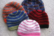crochet beanie, kid hats / by Vickie Bevens