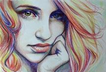 Art Lessons portraits / by Jolene Navarro