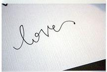 *00-Handlettering  / Hand lettered work.