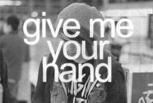 I wanna hold your hand!
