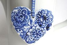 Blue and White and Yellow / by Ramona Conrad-Cooper