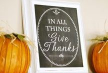 Thanksgiving / by Shannyn of Frugal Beautiful