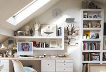 NEST his & hers study areas / Shared office space