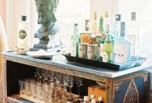 BAR CARTS/DRINKS / by Clayton Kelly