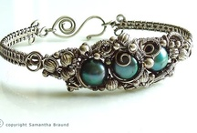 "Wearable Art Jewelry / Stunning, artistic jewelry - also known as the ""you should buy me one of these"" board.  / by Sandy Fischler"
