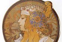 ART NOUVEAU & MUCHA & GAUDI / A celebration of Gaudi Genius & the Art Nouveau Period -  / by Aleta Ford Baker