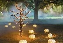 """Halloween Decor PINspiration / Halloween is huge in my house and we really get into the """"spirits"""" of things. -Dee Snider"""