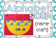 Alphabet Activities / Teaching resources for teaching letters and the alphabet