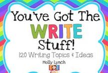 Writing / All things writing related for the classroom.