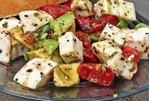 Everyday Salads / Who said salads are boring??  Not these!