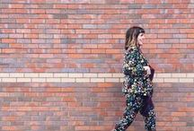 My style- what to wear / Honing my style all the time, lots of all in ones and jumpsuits here. Denims with khaki and claret and black, trying to construct a capsule wardrobe