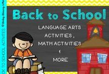 Back to School / Back to school teaching resources, includes The Gingerbread Man activities, The Day the Monster Came to School activities, Meet the Teacher Night