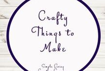 Crafty Things to Make / Ideas | Activities | Homeschooling | Educational | Printables | Learning | Crafts