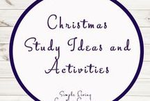 Christmas Study Ideas and Activities / Study Ideas | Activities | Homeschooling | Educational | Christmas  | Printables | Learning | Unit Studies | Crafts | Holidays | Festive