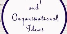 Storage and Organisational Ideas / Ideas | Activities | Storage | Educational | Homeschooling  | Printables | Learning | Crafts