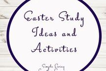 Easter Study Ideas and Activities / Study Ideas | Activities | Homeschooling | Educational | Easter  | Printables | Learning | Unit Studies | Crafts | Holidays | Seasonal