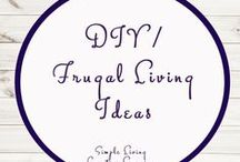 DIY / Frugal Living Ideas / DIY | Frugal Living Ideas | Storage | Organisation | Natural Remedies | Natural Living | No Nasties | Make Your Own