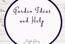 Garden Ideas and Help / Study Ideas | Activities | Homeschooling | Educational | Garden  | Printables | Learning | Unit Studies | Crafts | Plants | Gardening