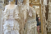 Lace Layers Ruffles Frills / lace ruffles / by Rachel Richards Wilson
