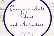 Language Arts Study Ideas and Activities / Study Ideas | Activities | Homeschooling | Educational | Language Arts  | Printables | Learning | Unit Studies | Crafts | Literacy