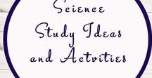 Science Related Activities and Ideas / Study Ideas | Activities | Homeschooling | Educational | Science  | Printables | Learning | Unit Studies | Crafts
