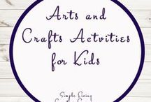 Arts and Crafts Activities for Kids / Study Ideas | Activities | Homeschooling | Educational | Arts  | Printables | Learning | Unit Studies | Crafts