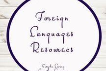 Foreign Languages - Study Ideas and Activities / Study Ideas | Activities | Homeschooling | Educational | Foreign Languages  | Printables | Learning | Unit Studies | Crafts
