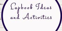 Lap book Ideas and Activities / Study Ideas | Activities | Homeschooling | Educational | Lapbooks  | Printables | Learning | Unit Studies | Crafts | Lap Books