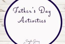 Fathers Day Ideas and Activities / Study Ideas | Activities | Homeschooling | Educational | Father's Day  | Printables | Learning | Unit Studies | Crafts
