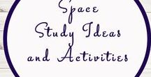 Space Related Ideas and Activities / Study Ideas | Activities | Homeschooling | Educational | Space  | Printables | Learning | Unit Studies | Crafts | Solar System | Planets