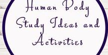 Human Body Ideas and Activities / Study Ideas | Activities | Homeschooling | Educational | Human Body  | Printables | Learning | Unit Studies | Crafts