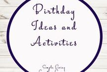 Birthday Activities and Ideas / Ideas | Activities | Birthday | Party | Printables | Learning | Crafts