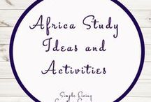 Africa Study Ideas and Activities / Study Ideas   Activities   Homeschooling   Educational   Africa   Printables   Learning   Unit Studies   Crafts