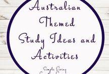 Australian Themed Study Ideas and Activities / Study Ideas   Activities   Homeschooling   Educational   Australia    Printables   Learning   Unit Studies   Crafts