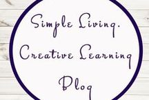 Simple Living. Creative Learning / Homeschooling   Education   Crafts   Activities   Recipes   Printables   A Moment In Our World   Unit Studies