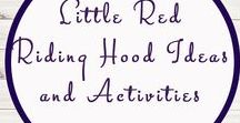 Little Red Riding Hood Activities and Study Ideas / Study Ideas | Activities | Homeschooling | Educational | Little Red Riding Hood  | Printables | Learning | Unit Studies | Crafts | Books | Novel Studies