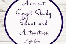 Ancient Egypt Study Ideas and Activities / Study Ideas   Activities   Homeschooling   Educational   Ancient Egypt    Printables   Learning   Unit Studies   Crafts