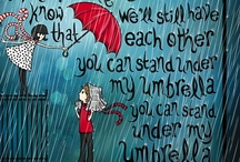 ☂  ❄ You Can Stand Under My Umbrella ❄ ☂
