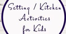 Table Setting / Kitchen Activities for Kids / Study Ideas   Activities   Homeschooling   Educational   Kitchen    Printables   Learning   Unit Studies   Crafts   Manners   Table Setting