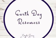 Earth Day Study Ideas and Activities / Study Ideas | Activities | Homeschooling | Educational | Earth Day  | Printables | Learning | Unit Studies | Crafts | Earth | Save the Earth