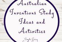 Australian Inventions Study Ideas and Activities / Study Ideas | Activities | Homeschooling | Educational | Australia  | Printables | Learning | Unit Studies | Crafts | Inventions | Inventors