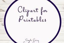 Clipart for Printables / Printables | Clipart
