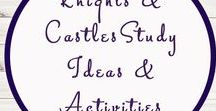 Knights & Castles Study Ideas and Activities / Study Ideas | Activities | Homeschooling | Educational | Knights  | Printables | Learning | Unit Studies | Crafts | Castles