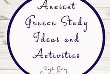 Ancient Greece Study Ideas and Activities / Study Ideas | Activities | Homeschooling | Educational | Ancient Greece  | Printables | Learning | Unit Studies | Crafts