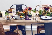 let's get together | entertaining + tabletop styling / by Hanh Truong
